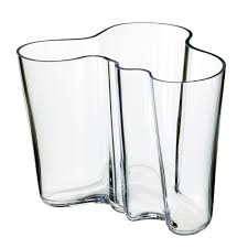 amazon com iittala aalto 6 1 4 inch glass vase home u0026 kitchen