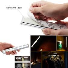 Lights Under Kitchen Cabinets Wireless by Kitchen Closet Under Cabinet Basement Stick On 10 Led Motion