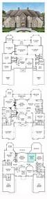 French Country Home Plans by New House Plan 72171 Total Living Area 6072 Sq Ft 6 Bedrooms