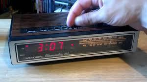 Jcpenney Clocks Realistic Chronomatic 233 Clock Radio Youtube