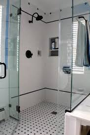 Black And White Small Bathroom Ideas Best 25 Subway Tile Bathrooms Ideas Only On Pinterest Tiled