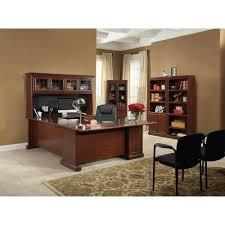 Desk Armoire Sauder Heritage Hill Executive Desk Classic Cherry Walmart Com