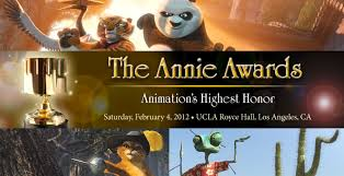 Confira: Vencedores do Annie Awards 2012