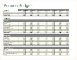 Sample Home Budget Spreadsheet 6 Home Budget Templates Outline Templates