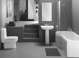 amazing contemporary small bathroom decorating ideas showing white