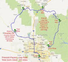 Payson Arizona Map riding maps foothills h o g chandler arizona