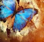 Painting With Butterfly Royalty Free Stock Photo, Pictures, Images ...
