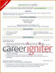 Entry Level Resume Examples by Graphic Design Resume Sample Entry Level