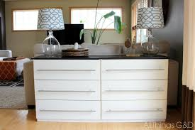 Ikea Kitchen Drawer by White Ikea Dresser Hacks And Transformations