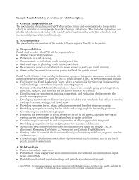 Cover Letter Exles Youth Coordinator How