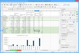 Software For Spreadsheets Apache Openoffice Calc