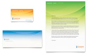 computer u0026 it services business card u0026 letterhead template word