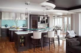 Blue Backsplash Kitchen Best Idea Of Stools For Kitchen Island With Blue Backsplash 9060