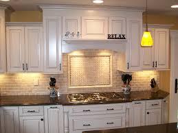 kitchen lighting backsplash ideas with white cabinets and dark