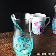 do it your freaking self diy watercolor coffee mug tutorial