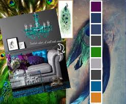 Teal And Purple Bedroom by Peacock Room Mood Board Purple Green Royal Blue Teal And Just