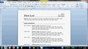 MLA Format Microsoft Word        MLA Format