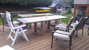 Outdoor Furniture Finish by Outdoor Diy Old And Rustic Long Driftwood Finish Coffee Table