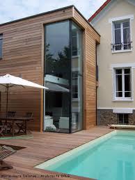 Veranda Plan De Campagne Exemple D U0027une Extension Ossature Bois Adossée à Une Maison