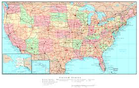 United States Map Delaware by United States Printable Map