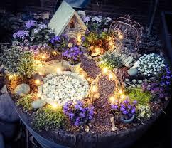Outdoor Mushroom Lights by Take Your Pick The Top 50 Mini Fairy Garden Design Ideas Solar