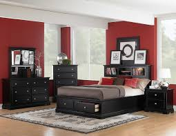 Red Bedroom by Red And Black Bedroom Set Khabars Net