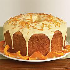 کیک پرتقالی،کیک شکلاتی