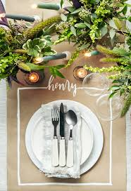 Black Blue And Silver Table Settings 40 Thanksgiving Table Settings Thanksgiving Tablescapes