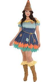 Chubby Halloween Costumes Sultry Scarecrow Costume Size Party Halloween