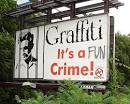 crime graffiti