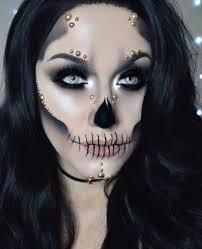 The 15 Best Sugar Skull Makeup Looks For Halloween Halloween by Skeleton Makeup Popsugar Beauty