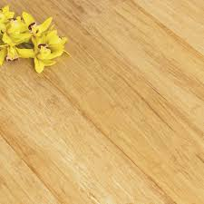 Uniclic Laminate Flooring Solid Natural Strand Woven 135mm Uniclic Bona Coated Bamboo