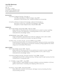Sample Undergraduate Resume Resume Posting