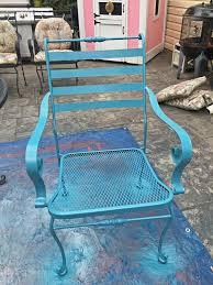 Spray Painting Metal Patio Furniture - makeovermonday painting 12 year old patio furniture u2013 the daily