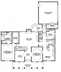 one story 4 bedroom house floor plans decorating ideas