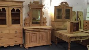 Pine Drawers Antique Pine Dresser With Ornate Mirror Top Pinefinders Old Pine