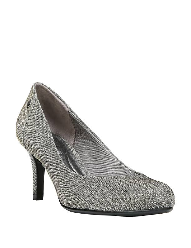 LifeStride Lively Heels Silver- Womens