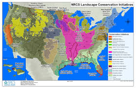 Map For United States by Landscape Initiatives Nrcs Louisiana
