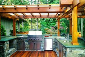 simple outdoor kitchen design ideas interior home decorating ideas