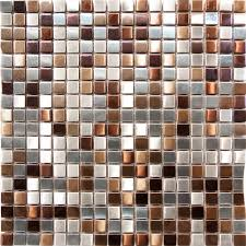 Mosaic Tiles For Kitchen Backsplash 1sf Stainless Steel Metal Gold Silver Copper Mosaic Tile Kitchen