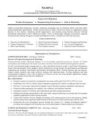 Resume Examples For Food Service by Manufacturing Resume Example