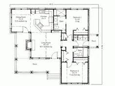 Small Cottage Floor Plan Plan 44091td Designed For Water Views Scale Bedrooms And Kitchens