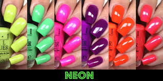 colores de carol opi neons 2014 swatches and review