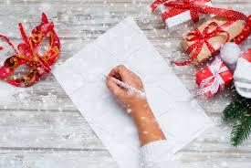 hands writing letter santa holiday photos creative market