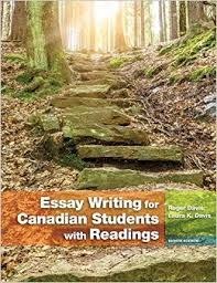 Essay Writing for Canadian Students   th Edition   Roger Davis     Amazon ca