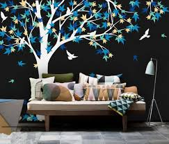 Bedroom Wall Decals Trees Online Get Cheap Wall Decals Canada Aliexpress Com Alibaba Group