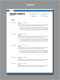 Resume That Gets The Job by Modern Resume Template 1 Stylish Resume Design Set Of Formats