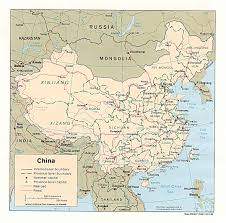 China City Map by
