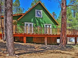 3br happy jack cabin in coconino national homeaway happy jack