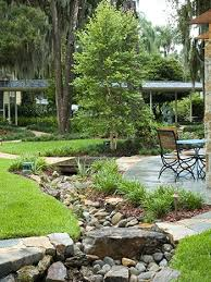 Super Easy Dry Creek Landscaping Ideas You Can Make - Backyard river design